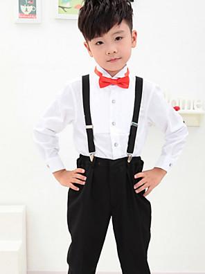 Směs polyesteru a bavlny Oblek pro mládence - 4 Pieces Obsahuje Tričko / Kalhoty / Motýlek / Suspensory