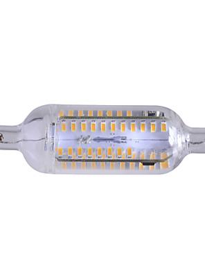 7W R7S LED-maissilamput Upotettu jälkiasennus 76 SMD 4014 600-700 lm Lämmin valkoinen Himmennettävä / Koristeltu AC 220-240 V 1 kpl