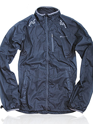 NUCKILY® ג'קט לרכיבה לנשים / יוניסקס שרוול ארוך אופנייםעמיד למים / נושם / ייבוש מהיר / עיצוב אנטומי / עמיד אולטרה סגול / מוגן מגשם / לביש