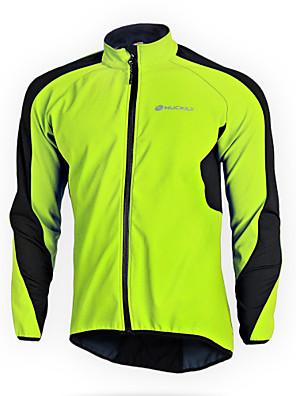 NUCKILY® Cyklo bunda Dámské / Unisex Dlouhé rukávy Jezdit na koleVoděodolný / Zahřívací / Větruvzdorné / Anatomický design / Zateplená