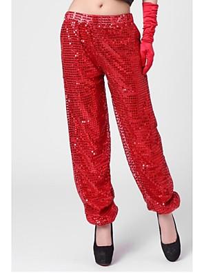 Jazz Spodní část oděvu Dámské Výkon Bavlna Flitry Jeden díl Kalhoty 95-108cm