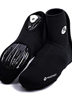 כיסויי נעל אופנייים עמיד למים / שמור על חום הגוף / עמיד / מבודד / מוגן מגשם / לביש / מכפלת עם מחזיר אור יוניסקס שחור ניילון / SBR