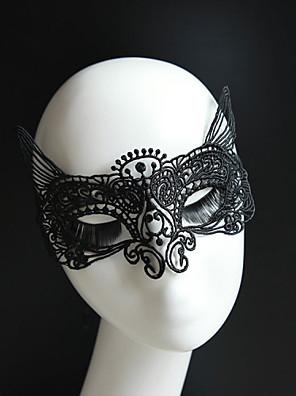Feest - Masker / Oorbellenset (Kant , Zoals Op De Afbeelding)