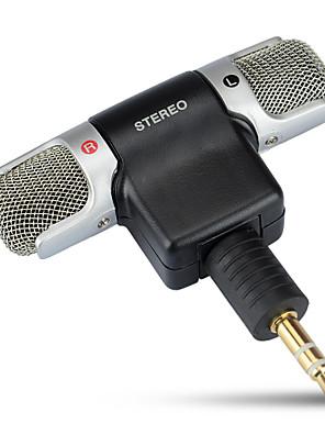 Kingma אוסמו מיקרופון של 90 מעלות אלחוטיות חיצוניות מתקפל חיטה כפולה הקלטה גמישה