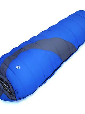 שק שינה שק שינה מומיה יחיד 0℃ כותנה חלולה 300 גרם 220X80 קמפינג עמיד למים Jungleking