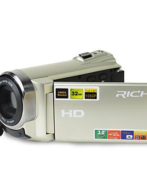 """ricos hd-900 hd 1080p pixels 20,0 mega pixels 16x de zoom de 2,5 """"LCD Full HD camcorder câmera digital"""