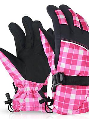 לנשים כפפות ספורט פנאי שמור על חום הגוף / לביש / נגד החלקה אביב / סתיו / חורף ורוד / אפור-ספורטיבי-גודל חינם