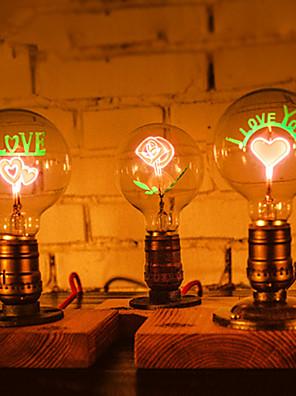 לופט תעשייתי מנורת לילה אורות שולחן הנורה רטרו E27 אדיסון עבור מסיבת החתונה יום הולדת קישוט-FJ-dt2x2-039a0