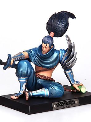 League of Legends Yasuo PVC na unforgiven12cm anime akční figurky panenka hračky modelu