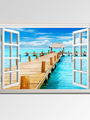 Ritratti / Tempo libero / Paesaggio / Fotografia / Moderno / Romantico / Viaggi Print Canvas Un pannello Pronto da appendere,Orizzontale
