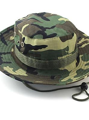 Chapéu de Sol Chapéu Alta Respirabilidade (>15,001g) / Materiais Leves / Macio Unissexo Beje / Camuflagem / Verde Militar / Cáqui Claro