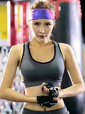 Corrida Sutiã Esportivo / Malha Íntima Mulheres Sem Mangas Respirável / Vestível / Materiais Leves / Redutor de Suor TactelIoga / Pilates