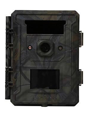 bestok® lente grande angular tempo de disparo mais rápida em vários idiomas sem brilho câmera caça impermeável trilha IP65