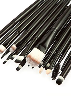 20pcs profissional cabra / pônei cabelo composição cosméticos set pincel de blush / sombra / cílio / sobrancelha / pincel de lábios