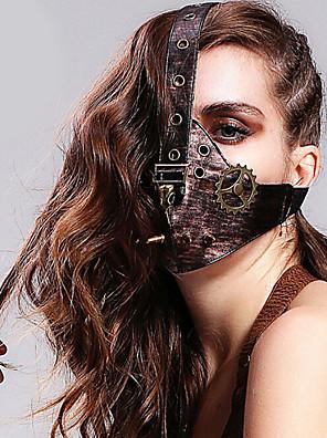 Lolita doplňky Gothic Lolita / Punk Lolita Maska Viktoria Tarzı Černá Lolita Příslušenství Maska Jednobarevné Pro Dámské