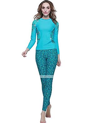 Mulheres Roupas de Mergulho / Anti Atrito / Fatos de Banho / Macacão de Mergulho Longo Fato de MergulhoAlta Respirabilidade (>15,001g) /
