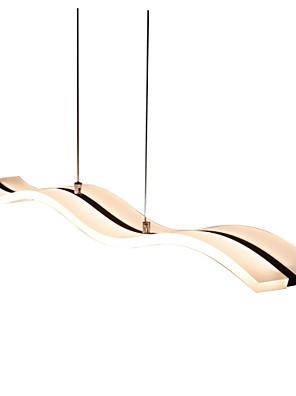 umei ™ 40W modern / kortárs led króm függesztett lámpák nappali / hálószoba / dolgozószoba / iroda / gyerek szoba