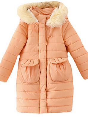 Girl's Jacket & Coat,Nylon Winter Blue / Orange
