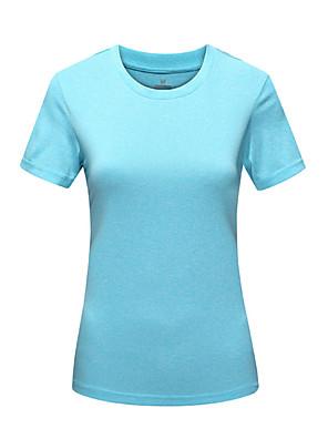 Mulheres CamisetaIoga / Acampar e Caminhar / Taekwondo / Boxe / Caça / Pesca / Alpinismo / Exercicio e Fitness / Golfe / Corridas /