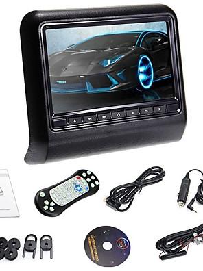 """Nowy sytle 9 """"Gniazdo w zagłówek samochodowy odtwarzacz DVD z nadajnika FM / IR / USB / SD / gry bezprzewodowej (1 szt)"""