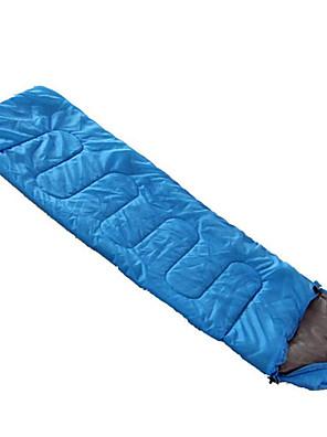 Saco de dormir Retangular Solteiro (L150 cm x C200 cm) 20 Algodão 1000g 180X75 Campismo / Praia / Viajar / ExteriorÁ Prova-de-Vento /