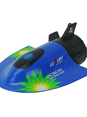 rc båd mini ubåd legetøj drevet hastighed fjernbetjening båd 2,4 g plast turist undersøiske legetøj båd til børn