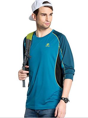 Camisa para Ciclismo Unissexo Manga Comprida Moto Respirável Blusas Terylene Primavera / Verão / Outono / Inverno Exercicio e Fitness