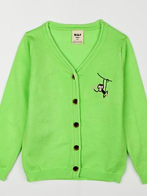 Boy's Casual/Daily Jacquard Sweater & Cardigan,Cotton Fall Blue / Green / Orange