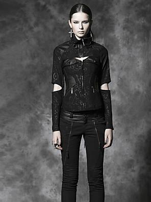 PUNK RAVE Y-484 Women's Vintage/Casual Medium Long Sleeve Regular Jackets