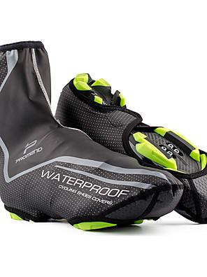 promend נעלים לרכיבת אופניים לגברים / לנשים / יוניסקס טבע / אופני הרים / אופני כביש כיסויי נעל עמיד למים / נושם / מחזירי אור שחור
