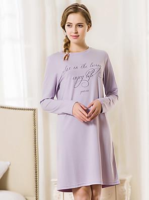 Ženy Bavlna / Spandex Pyžama