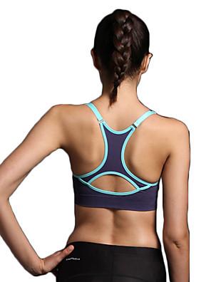 Sportovní®®Jóga Podprsenka / Spodní prádlo / Vrchní část oděvu Prodyšné / Rychleschnoucí / Hladký / Pohodlné / 3D Pad / Beze švuVysoká