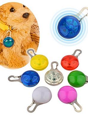 LED vandtæt klips på kæledyrs sikkerheds lys (blandede farver)