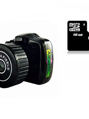 Other plast Mini Camcorder Mikrofon Černá 1,4