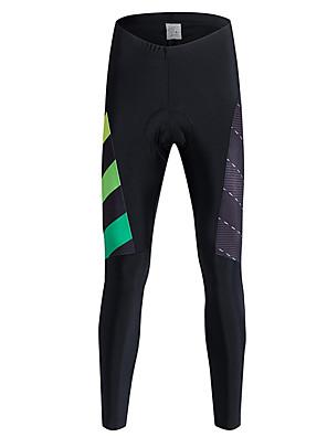 Sportovní Cyklo kalhoty PánskéProdyšné / Zahřívací / Rychleschnoucí / Větruvzdorné / Zateplená podšívka / Vysoká prodyšnost (> 15,001 g)