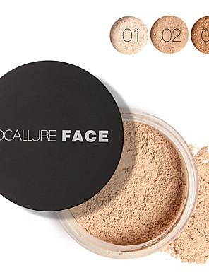 1 פודרה יבש / מט / Mineral אבקת loose מלבין / מחזיק לאורך זמן / קונסילר / טבעי פנים צבע זמין Guangzhou FOCALLURE