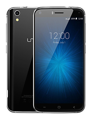 "UMI London 5.0 "" Android 6.0 3G smartphone (Dobbelt SIM Quad Core 8 MP 1GB + 8 GB Sort / Gyldent)"