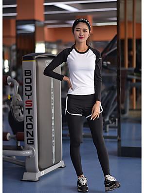 יוגה מדים בסטים נושם / רך / חלק / נוח מתיחה בגדי ספורט לנשים-ספורטיבי,יוגה