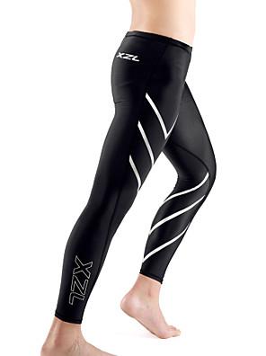 ריצה חותלות / טייץ רכיבה על אופניים / מכנסיים / Suit דחיסה / תחתיות לגברים נושם / ללא חשמל סטטי / דחיסה / חומרים קלים / נמתח / תומך זיעה