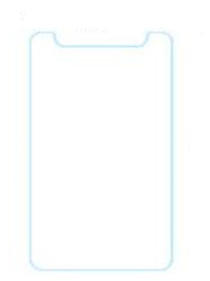 7 inch universele gehard glas screen protector film voor tablet