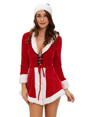 גלימה אגדה / חליפות סנטה פסטיבל/חג תחפושות ליל כל הקדושים אדום אחיד / טלאים גלימה האלווין (ליל כל הקדושים) / חג המולד / קרנבל / ראש השנה