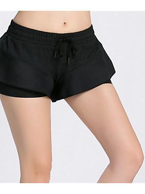 מכנסיים יוגה מכנסיים קצרים נושם / ייבוש מהיר / מפחית שפשופים / תומך זיעה / רך / נוח / מגן / נגד החלקה / מגביל חיידקים ניתן להתאמה מתיחה