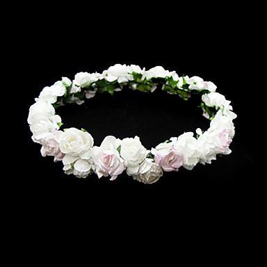 Belle fleur de mariage de papier fillette couronne de fleurs de 200177 2017 - Couronne de fleur mariage ...