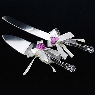 Decorating Wedding Cake Knife Server : Serving Sets Wedding Cake Knife Rose Garden Cake Knife and ...