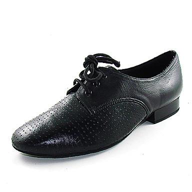 reais de couro sapatos de dança de salão sapatos latin superior para os homens de 233040 2017 ...