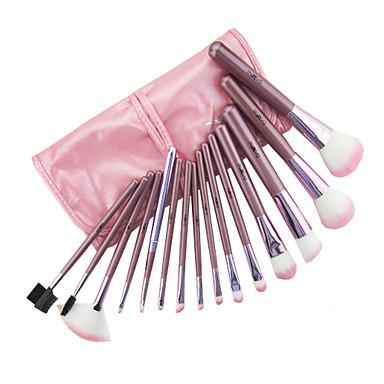 15 pcs pink makeup brush set 379618 2016  2599