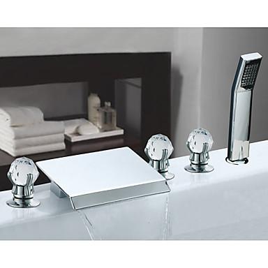 Rubinetto vasca acciaio inossidabile contemporaneo - Rubinetti per vasca da bagno ...