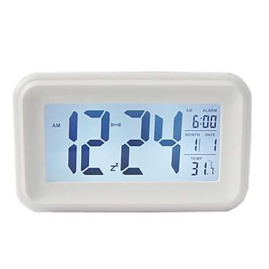 Simple style led mute alarm clock 568886 2016 for Minimalist alarm clock