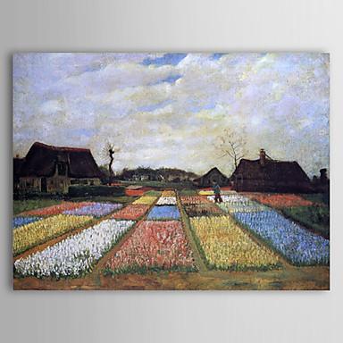 C l bre peinture l 39 huile parterres en hollande par van gogh de 2015 - Peinture a l huile van gogh ...