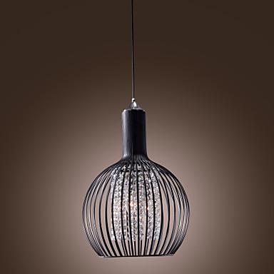 Max 60w moderno contempor neo farol cristal mini for Lamparas estilo contemporaneo